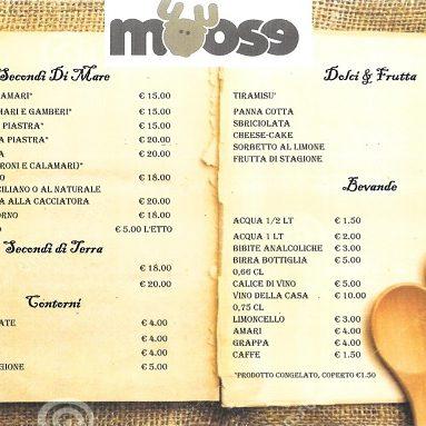 moose ristorante ostia menù2